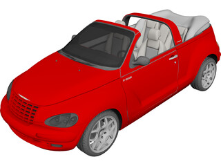 Chrysler PT Cruiser Cabriolet (2004) 3D Model