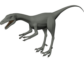 Compsognathus 3D Model