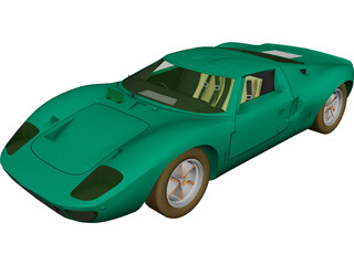 Ford GT40 (1965) 3D Model