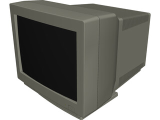 Monitor 3D Model 3D Preview