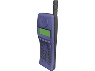 Phone Mobile Alcatel 3D Model