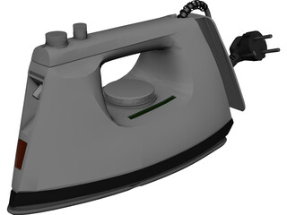 Iron Solac Autocleaning 3D Model