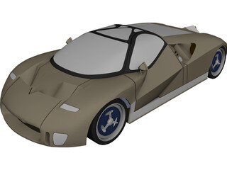 Ford GT90 (1995) 3D Model