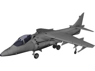 AV-8B Harrier II 3D Model