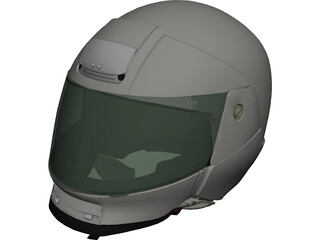 Helmet Shoei 3D Model