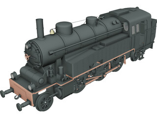 VLC75 Locomotive 3D Model