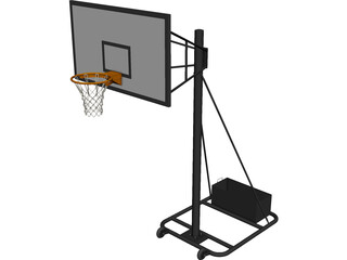 Basket Hardware Model MEC 3D Model