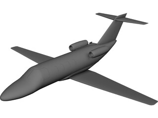 Cessna Citation Jet 3D Model