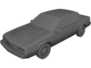 Oldsmobile Cutlass Ciera (1983) 3D Model
