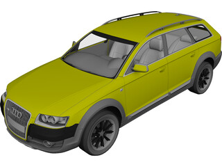 Audi Allroad (2007) 3D Model 3D Preview