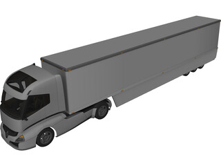 Renault Radiance Concept Truck 3D Model 3D Preview