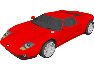 Ford GT 3D Model