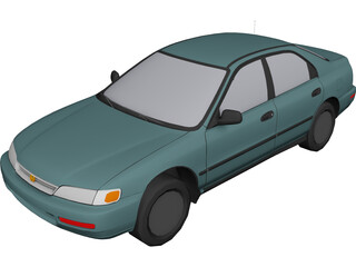 Honda Accord (1997) 3D Model