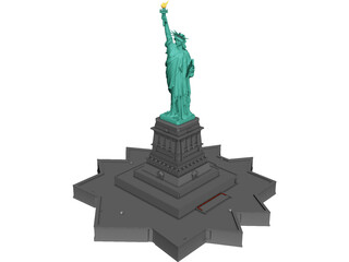 Statue Of Liberty 3D Model 3D Preview