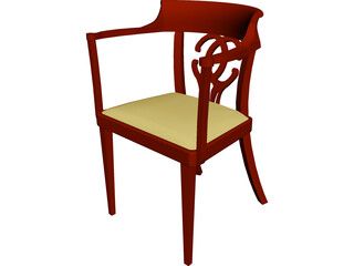 Chair 3D Model 3D Preview