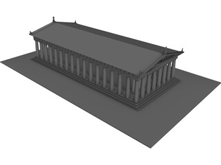 Parthenon 3D Model