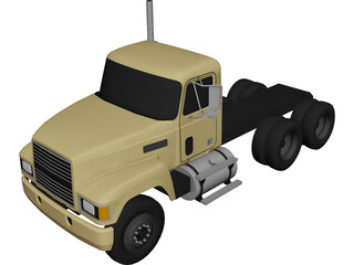 Mack CH613 (1993) 3D Model 3D Preview