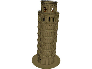 Tower Of Pisa 3D Model
