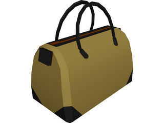 Duffel Sports Bag 3D Model