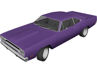 Plymouth Road Runner (1970) 3D Model