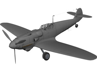 Messerschmitt 3D Model