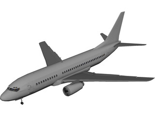 Boeing 737-700 [+Interior] 3D Model 3D Preview