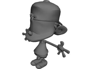 Kid Paddle 3D Model