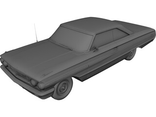 Ford Galaxy (1966) 3D Model 3D Preview