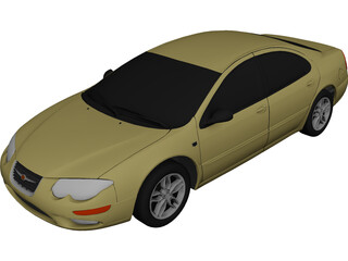 Chrysler 300M (1998) 3D Model