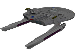 Star Trek Reliant 3D Model