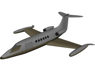 Bombardier Learjet 31A 3D Model
