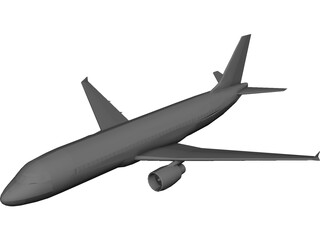 Airbus A320 3D Model 3D Preview