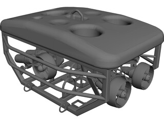 ROV Deep Sea CAD 3D Model