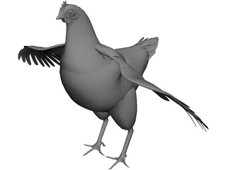 Chicken CAD 3D Model