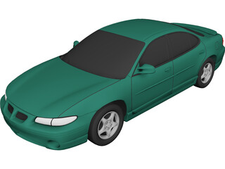 Pontiac Grand Prix (1997) 3D Model