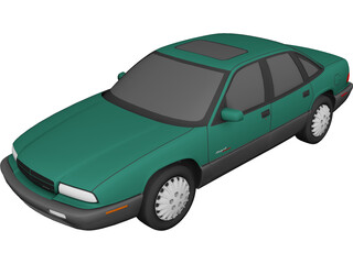 Buick Regal (1997) 3D Model