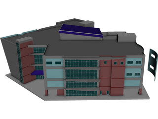 Kight Center for Emerging Technologies 3D Model