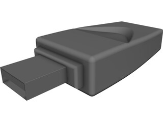 USB Thumbdrive 3D Model