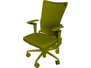 Allsteel Chair 1 3D Model