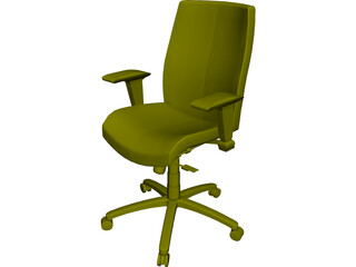Allsteel Chair 2 3D Model
