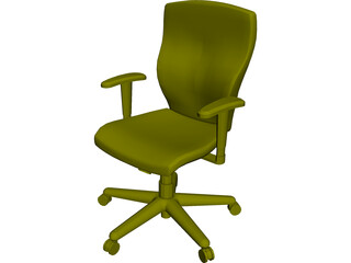 Allsteel Chair 3 3D Model
