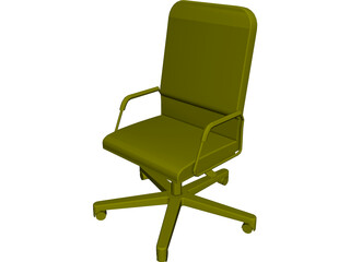 Allsteel Chair 4 3D Model
