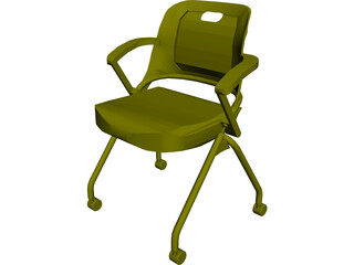 Allsteel Chair 5 3D Model