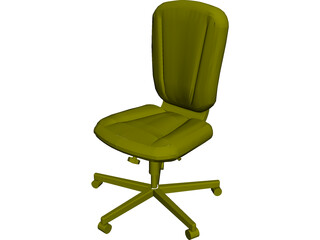 Allsteel Chair 6 3D Model
