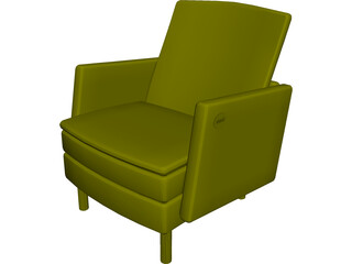 Allsteel Chair 7 3D Model