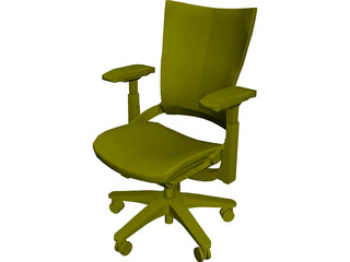 Allsteel Chair 9 3D Model