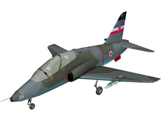 BAE Hawk G-4 Soko 3D Model