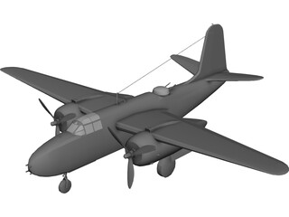 A-20 Havoc 3D Model 3D Preview