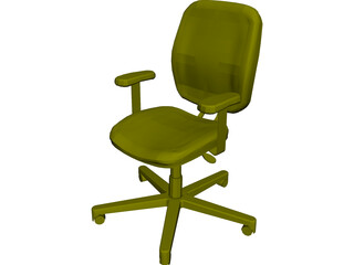 Allsteel Chair 11 3D Model