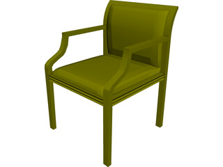 Allsteel Chair 13 3D Model